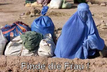 Finde die Frau!