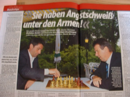 Mainz gegen Frankfurt